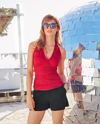 Neckholder-Top von Aniston für Deine Sanduhr-Figur