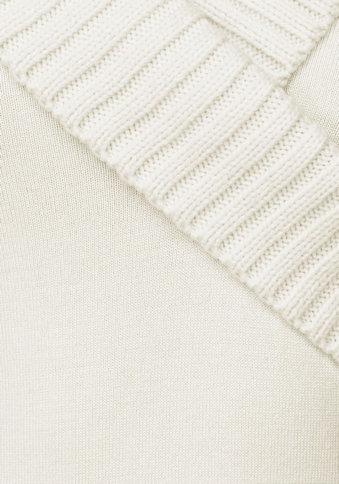 Wickelpullover creme von Melrose für Deine Sanduhr-Figur