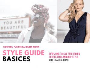 Style Guide Basics für die Sanduhr-Figur - sanduhr-figur.com
