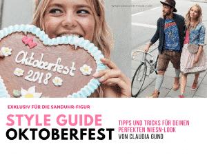 Style Guide Oktoberfest für die Sanduhr-Figur - sanduhr-figur.com