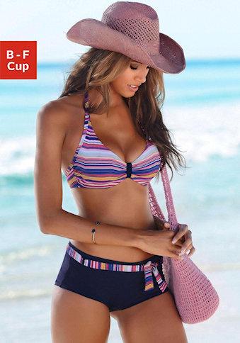 Bikini Neckholder sunseeker für die Sanduhr-Figur